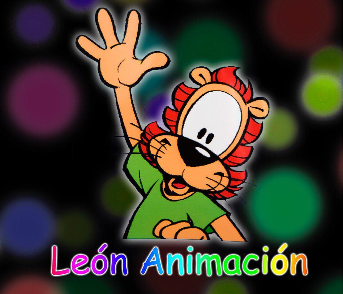 Pagina Web de León Animación